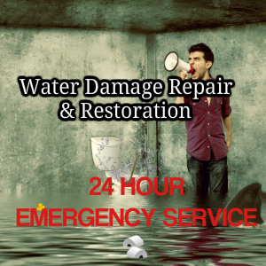 Water Damage 24 hr Service