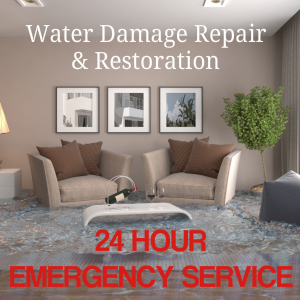 Water damage 24 hr emergency service